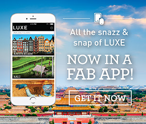 All the snazz & snap of LUXE